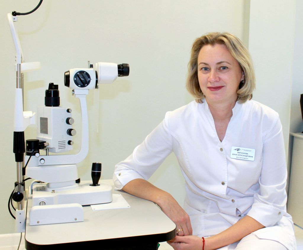 Варзонова Анна Александровна, Врач-офтальмолог