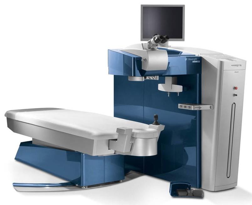 Новинка! Эксимерный лазер для коррекции зрения ALCON WaveLight EX-500
